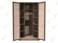 Угловой шкаф в спальню Стиль У-6Р