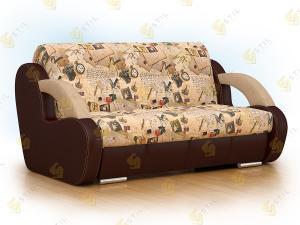 Прямой диван Стори 140 Принт Марки