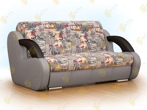 Прямой диван Стори 155 Принт граффити