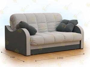 Прямой диван Стретто