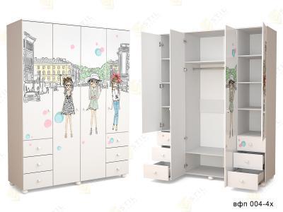 Распашной шкаф ТинАрт Ч-3 004