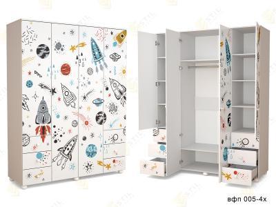 Распашной шкаф ТинАрт Ч-3 005