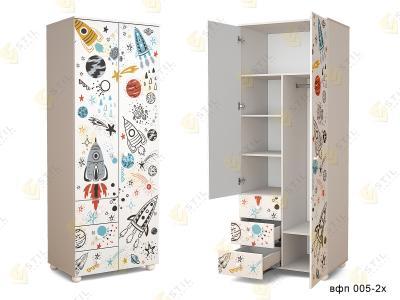 Распашной шкаф ТинАрт Д-13 005