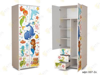 Распашной шкаф в детскую ТинАрт Д-13 007