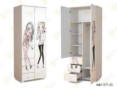 Распашной шкаф в детскую ТинАрт Д-13 011