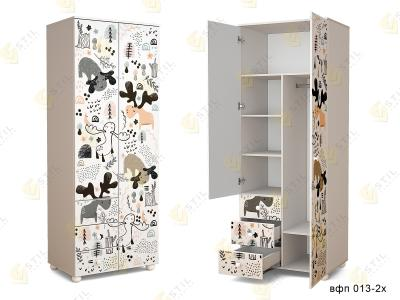 Распашной шкаф в детскую ТинАрт Д-13 013
