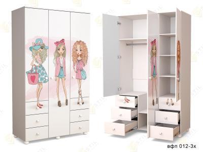 Распашной шкаф ТинАрт Т-7 012
