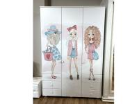 Распашной шкаф ТинАрт Т-7 012 Выставочный образец на распродаже