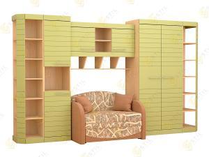 Набор мебели в детскую Тин Страйп 6Д