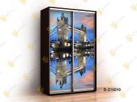 шкаф-купе с фотопечатью Титан Ф-D215010