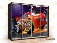 шкаф-купе с фотопечатью Титан Ф-D415008