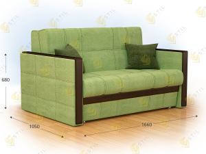 Прямой диван Толли