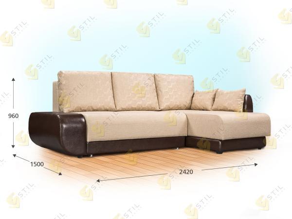 Прямой диван Торелли