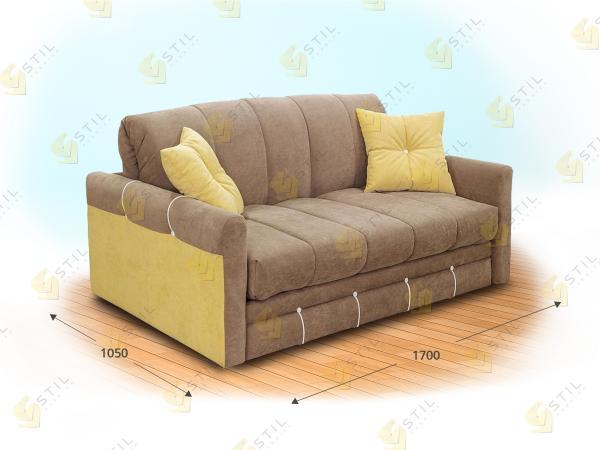 Прямой диван Транквилло