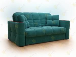 Прямой диван Тутти 140 тринити азур