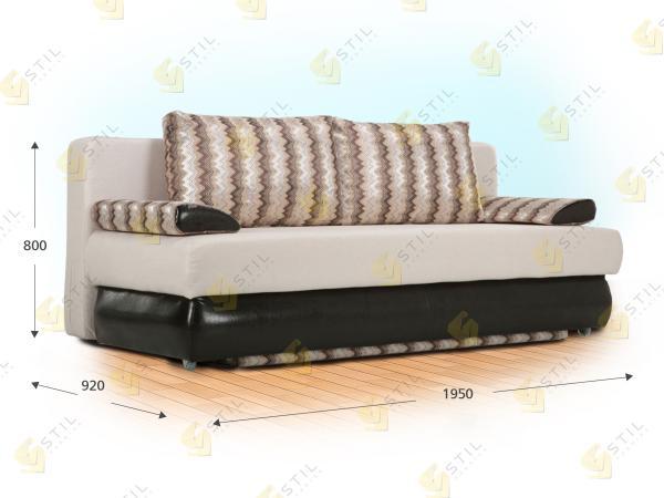 Прямой диван Тэнеро