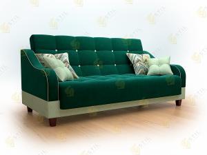 Прямой диван Венчира 200 Велютто 20