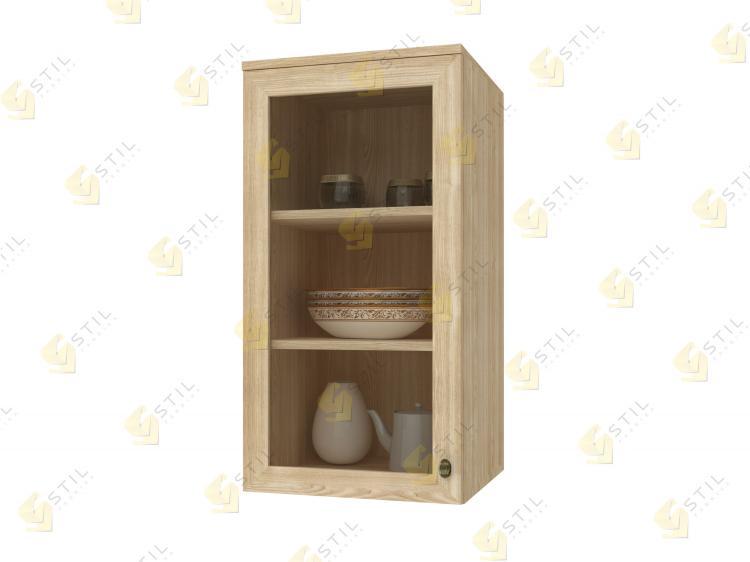 Навесной шкаф Витраж 1С