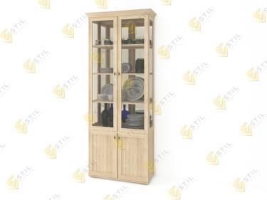 Шкаф витрина Витраж 3С для посуды