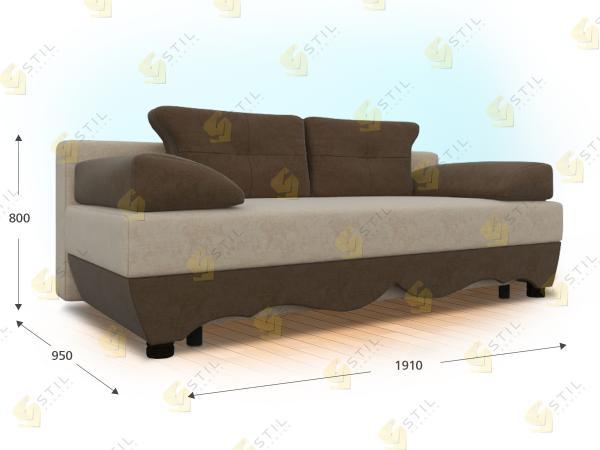 Прямой диван Виваче