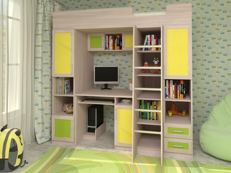 Набор мебели в детскую Карлсон-1
