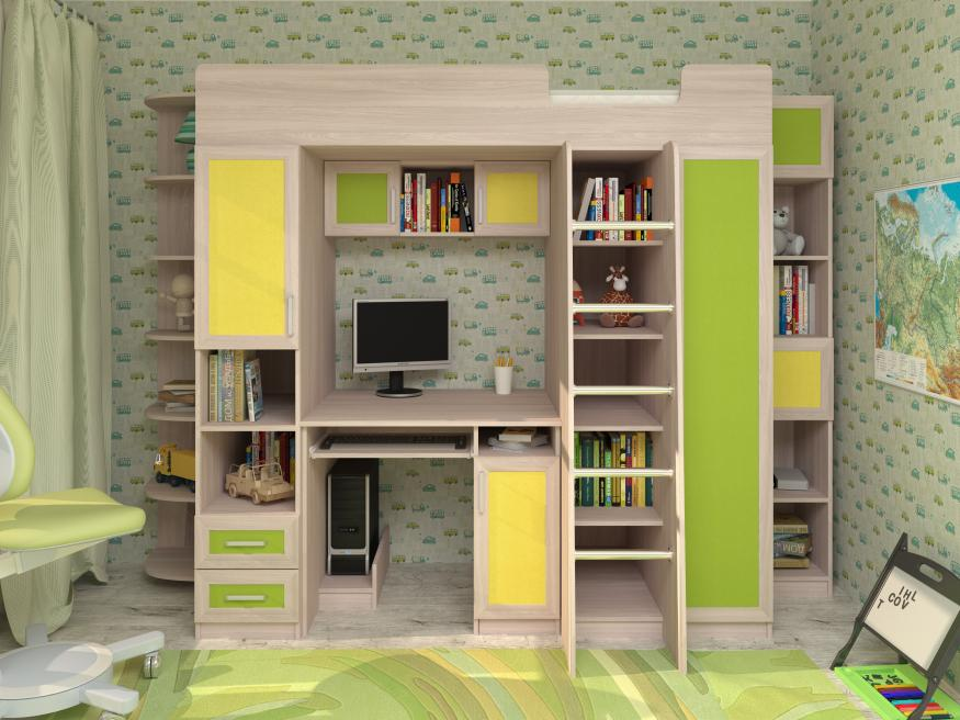 Набор мебели в детскую Карлсон-3