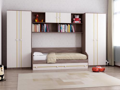 Набор мебели в детскую Отличник 2+2