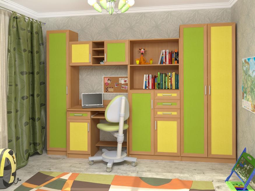 Набор мебели в детскую Том и Джерри