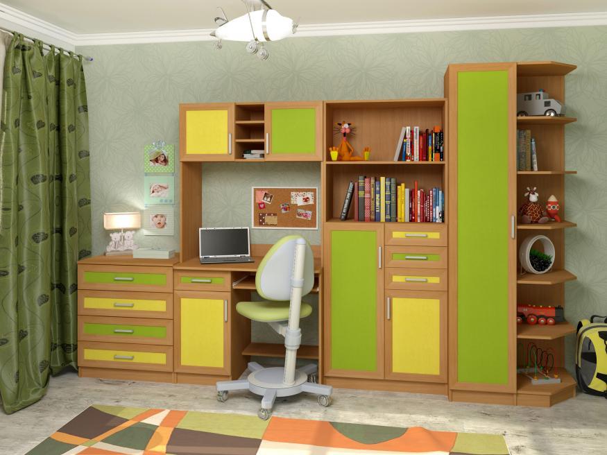 Набор мебели в детскую Том и Джерри-2