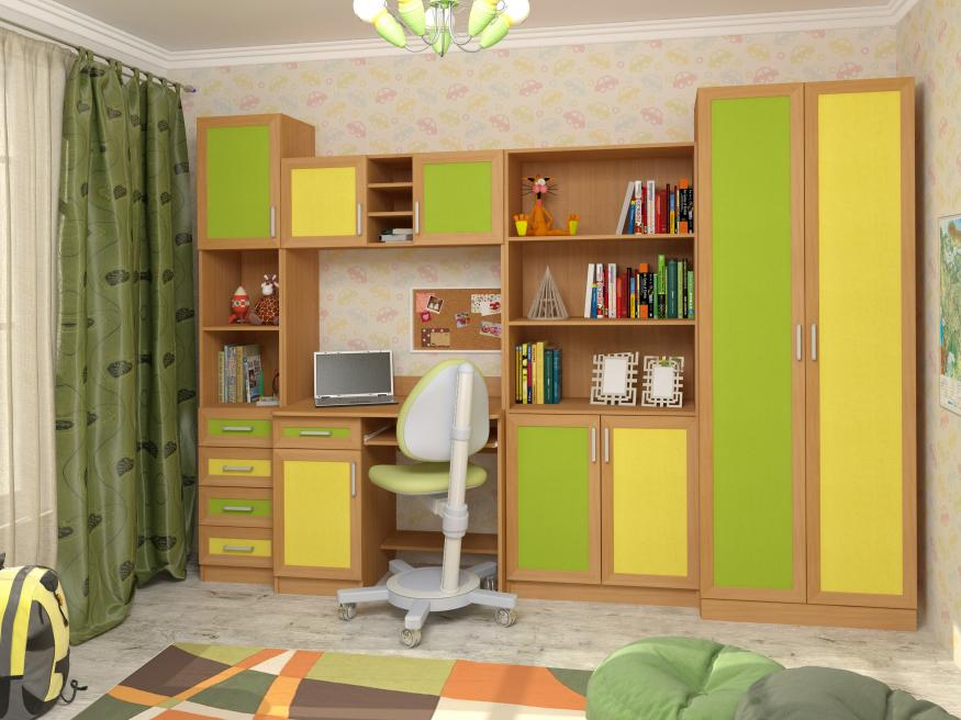 Набор мебели в детскую Том и Джерри-4