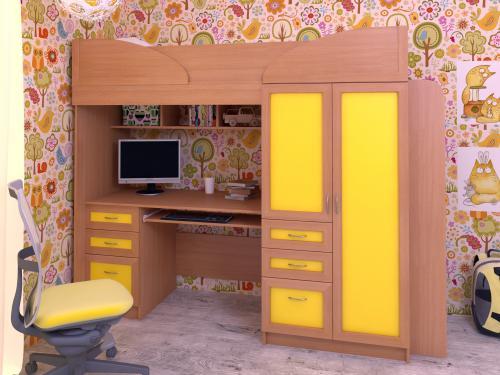 Набор мебели в детскую Полина с ящиками