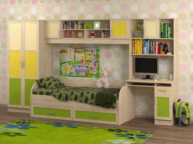 Недорогая детская мебель Белоснежка-1