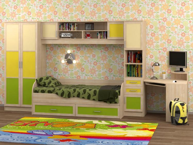 Набор мебели в детскую Белоснежка-2