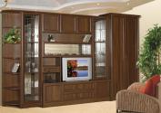 Классическая стенка для гостиной Юникс-4