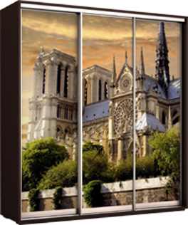 Фасады с фотопечатью: пример 3