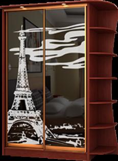 Фасады с пескоструйным рисунком: пример 1