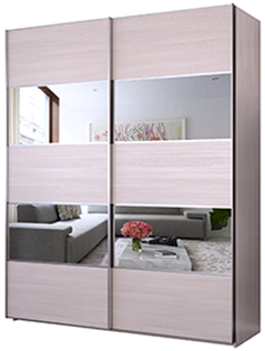 Зеркальные фасады: пример 1